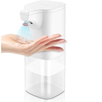 GESMA アルコール消毒噴霧器 自動手指消毒器 自動誘導 非接触式手指消毒機 滅菌器 350ml大容量 感染予防 細菌抑制 家庭用 洗面所 病院 学校 などに適用【2020最新版】