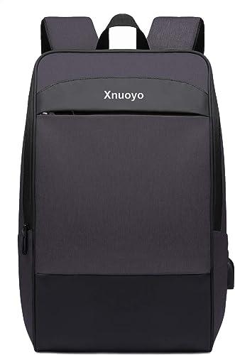 Xnuoyo 17.3 Pouces Sac à Dos Ordinateur avec USB Charging Port , Résistant à L'eau Sac a Dos PC Portable et Sac à Dos...