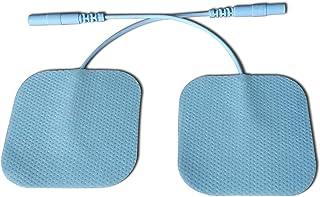 Electrodos Cervicales Facial Gluteos Hombro Manos Rodilla - Self Adhesive Electrodes Masaje Gel Conductor Adhesivos Gelificados, Electrodos Recambio Masajeador Autoadhesivos Home270pcs (2.0mm)