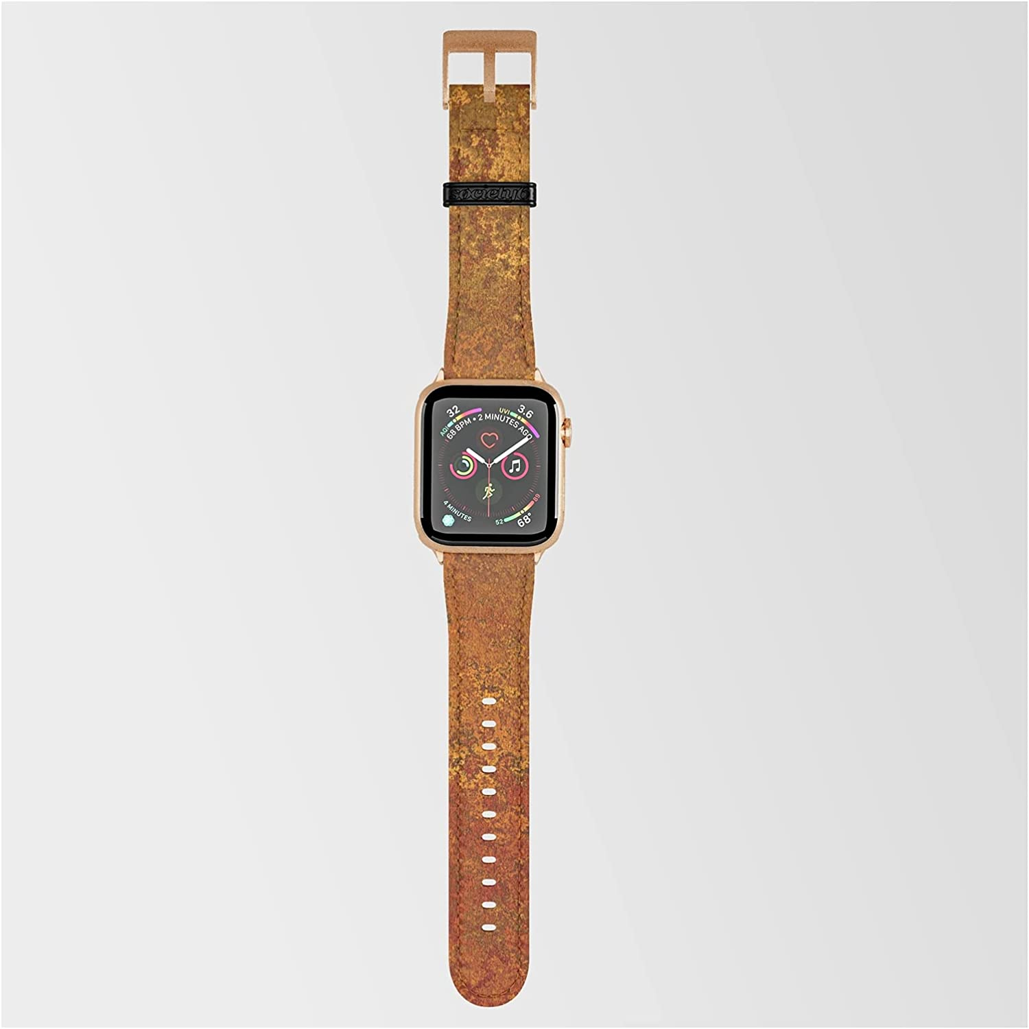 Vintage Copper Max 77% OFF Rust Special price for a limited time Minimalist Art Smartwatc Morris by Megan on