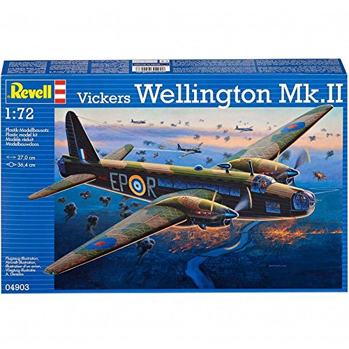 Revell - 04903 - Maquette D'aviation - Vickers Wellington MK.II - 151 Pièces