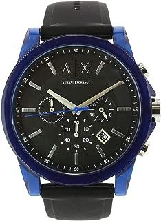 Armani Exchange Men's Ax1339 Blue Silicone Quartz Sport Watch