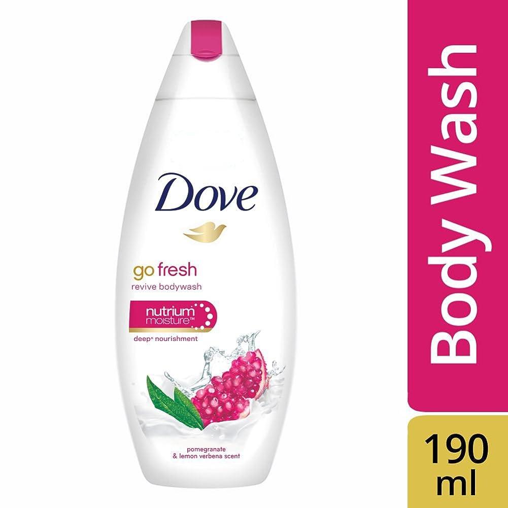 二年生ナット毎月Dove Go Fresh Revive Body Wash, 190ml