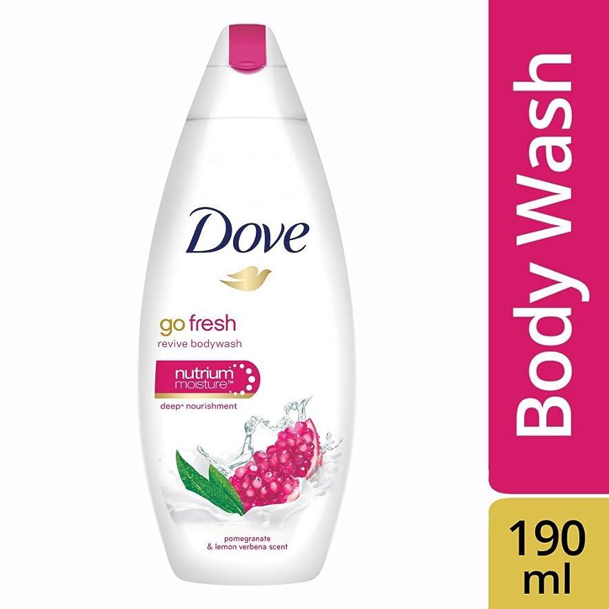 ペースト同様に散髪Dove Go Fresh Revive Body Wash, 190ml