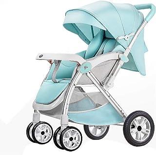 ベビーカー、ポータブル軽量旅行乳母車、折りたたみ赤ちゃん子供傘カートトロリー、ボトルラック付き