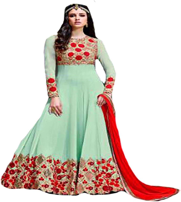 Bollywood Collection Ethnic Anarkali Salwar Kameez suit Ceremony wedding Bridal Muslim 8762