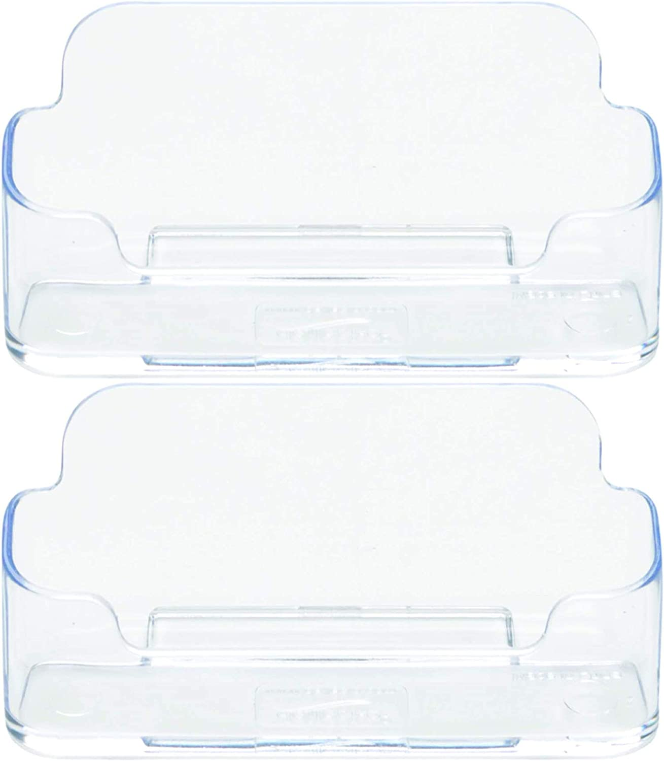 Deflecto Business Card Holder store Single x 3-3 4