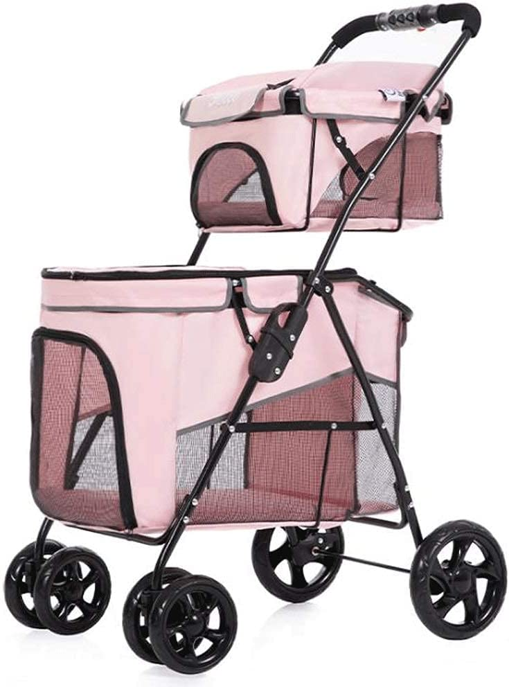 Pet stroller Travel Oklahoma City half Mall Stroller Dog Trolley
