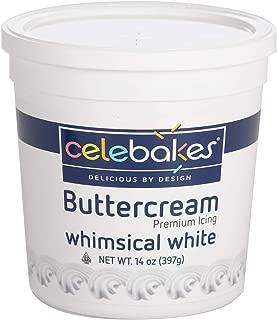 Celebakes White Buttercream Icing , 14 oz White