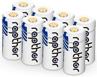 CR123A Lithium Batteries [750mAh 8pack] for Arlo Camera (VMC3030/VMK3200/VMS3230/3330/3430/3530), Flashlight, Microphone [...