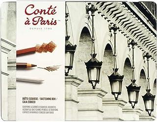 Conté à Paris The Sketching Box with Assorted Sketching Pencils