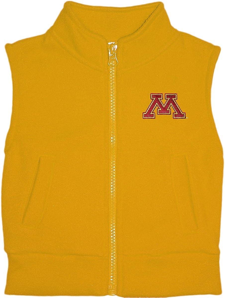 Creative Knitwear University of Minnesota Gophers Baby and Toddler Polar Fleece Vest