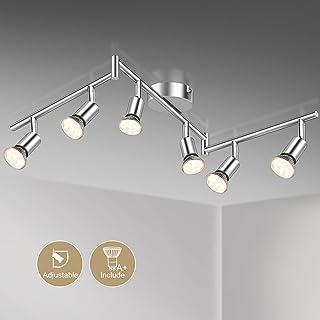 Deckenleuchte 6x LED 4W Lampe E27 Wohnraumleuchte Deckenbeleuchtung 6-flammig