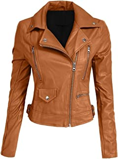Hashoob Ladies Polyurethan Leather Jacket Women Jacket NP-01