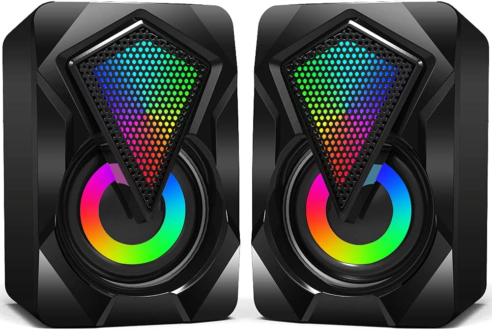 Wiwipenda Wired 2.0  USB Computer Speakers $8.99 Coupon