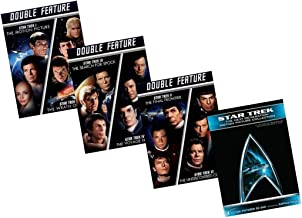 Ultimate Star Trek 10-Movie DVD Collection: I, II, III, IV, V, VI, VII, VIII, IX, X (1, 2, 3, 4, 5, 6, 7, 8, 9, 10) - Motion Picture/Wrath of Khan/Search for Spock/Voyage Home/Final Frontier/Undiscove