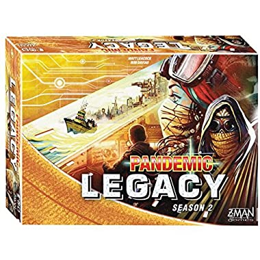 Fantasy Flight Games Pandemic: Legacy Season 2 (Yellow Edition)