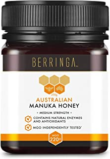 Berringa Australian Manuka Honey MGO 220+, 250 Grams