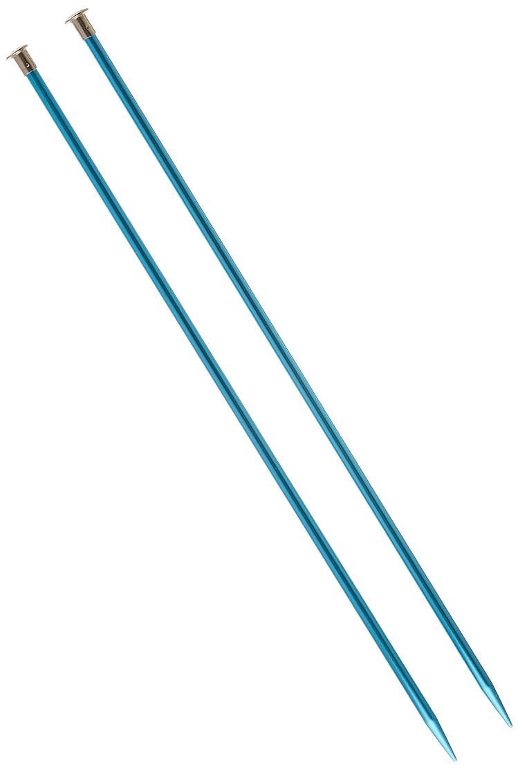 Boye 14-Inch Aluminum Single Point Knitting Needles, Size 10