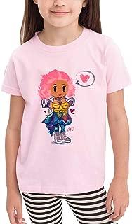 ZZFfoushionB Leisure Children's t-Shirt Short Sleeve with Nicki-Minaj Love You