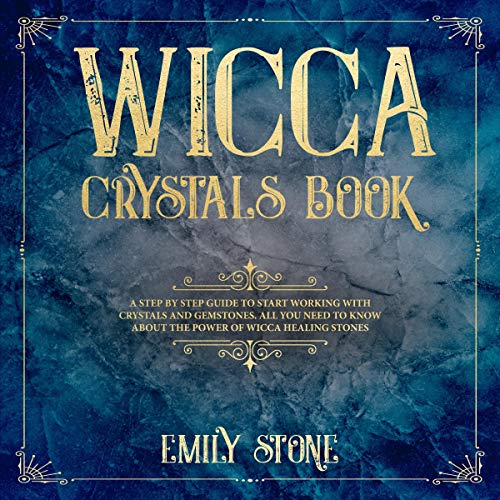 Wicca Crystals Book audiobook cover art