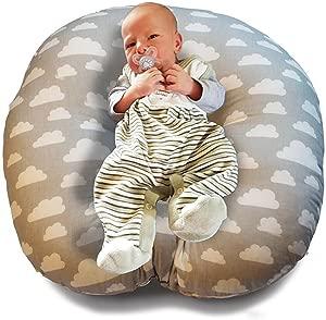 Baby Lounger Baby Bean Bag Positioning Cushion Cot Bumper Sleeping Cushion Original Equipment
