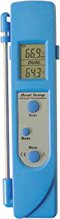 MASTERCOOL 52226 Infrared and Contact Thermometer, Blue