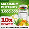 Hemp Oil Gummies - 3,000,000, 60 Sweets - Made in USA - Hemp... #2