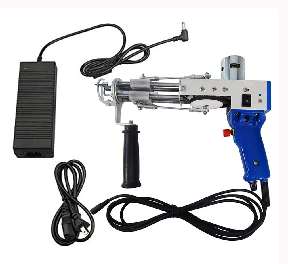 Dzhot51 Electric Handheld Loop Max 57% OFF Ultra-Cheap Deals Pile Tufting Gun Carpet Rug Weavi