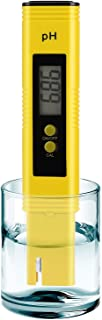 PH Meter for Water Hydroponics Digital PH Tester Pen 0.01 High Accuracy Pocket Size with 0-14 PH Measurement Range for Hou...