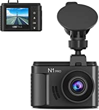 Vantrue N1 Pro Mini Dash Cam Full HD 1920x1080P Car Dash Camera 1.5 inch 160 Degree DashCam with Sony Night Vision Sensor, 24 Hours Parking Mode, Motion Sensor, Collision Detection, Support 256GB Max