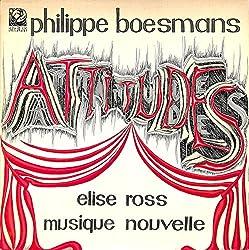 フィリップ・ボースマンス:アティテュード(1980 HOLLAND ORIGINAL,RIC002)(長岡鉄男の外盤A級)[エリーゼ・ロス][LP盤]