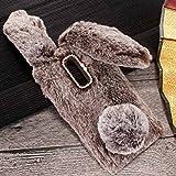 MeiZu Pro6/6S Art Case, Handmade Fluffy Villi Rabbit Baby