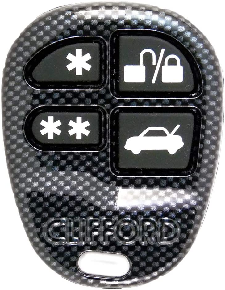 4-button Opening large release sale CLIFFORD Challenge the lowest price DEI Remote Keyfob