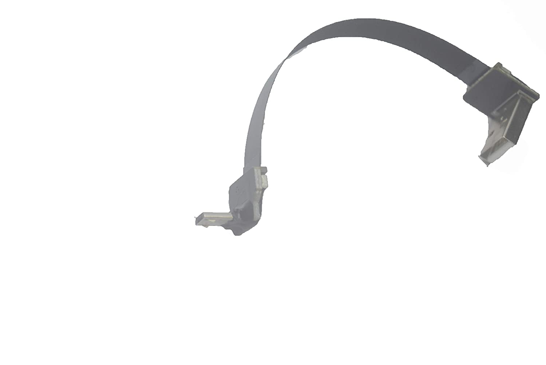 Soft Flat Slim Thin Popular brand Ribbon Micro USB to Superlatite St Male 90 Degree Angled