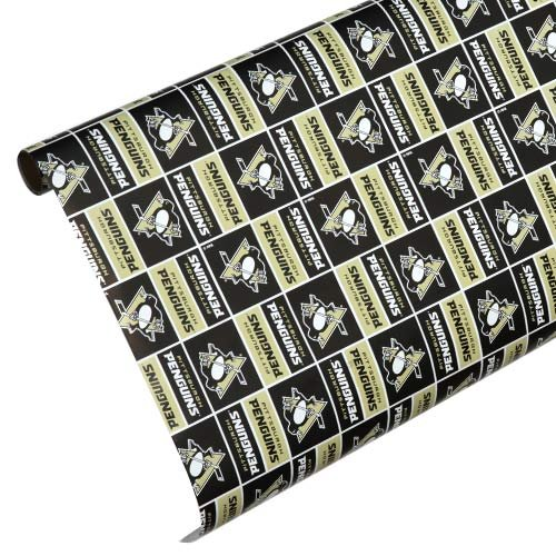 Pittsburgh Penguins Team Wrapping Paper