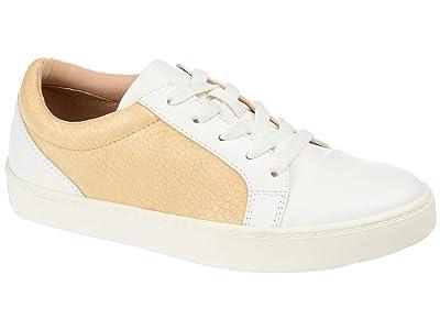 Journee Collection Comfort Foamtm Lynz Sneakers (Yellow) Women