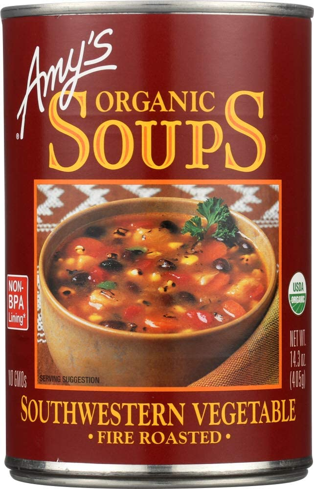 All items free shipping In a popularity NOT A CASE Organic Soup Roasted Southwestern Fire Vegetable
