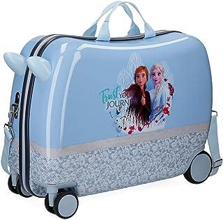 Disney Spirits of Nature Frozen 2 Maleta Infantil Azul 37x55x20 cms Rígida ABS Cierre combinación 38L 2,1Kgs 4 Ruedas Equi...
