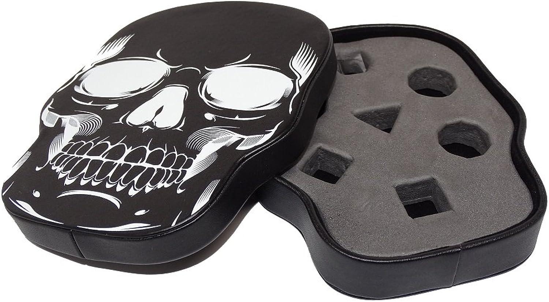 Easy Roller Roller Roller Dice Co  Black Skull Dice Display and