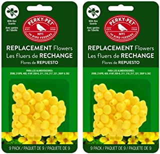 Perky Pet PP202FB Replacement Flowers for PP209B - Pack of 2 (package may vary )