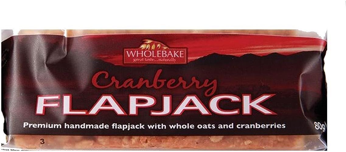 Wholebake   Cranberry   2 x 20 x 80g