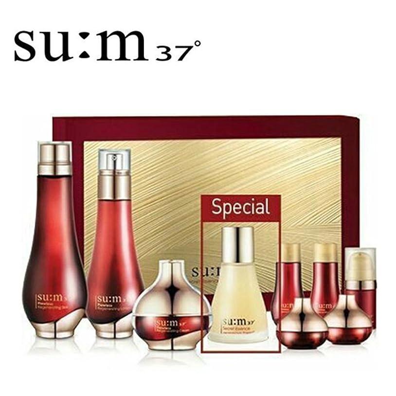 原稿猛烈な大腿[su:m37/スム37°] SUM37 Flowless Special Set/ sum37 スム37? フローレス 3種 企画セット +[Sample Gift](海外直送品)