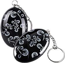 cherrypop 2 Pack 120 dB SOS Emergency Persoonlijke Alarm Sleutelhanger voor Ouderen Kids Vrouwen Avonturier Nachtarbeiders...