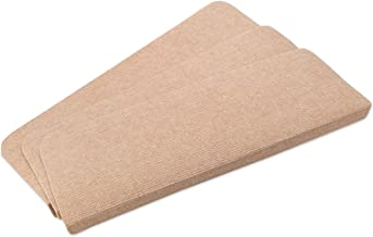 15 Piece Non Slip Rectangular Carpet Stair Treads Mats Floor Mat Protection Cover Step Staircase Pads (Color : Beige, Size...