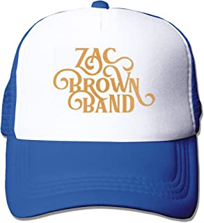 Women&Men Unisex Comfortable Zac Brown Band Caps Adjustable Strapback