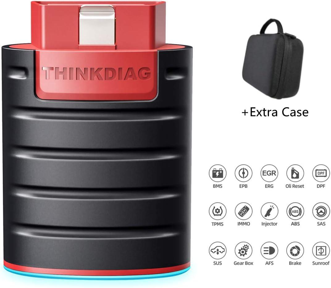 Amazon.com 20 thinkcar Bluetooth ThinkDiag with Case Full ODBII ...