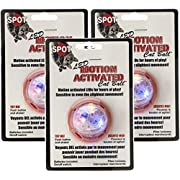 Ethical Pet 3 Pack of Motion Activated Cat Ball Cat Toys