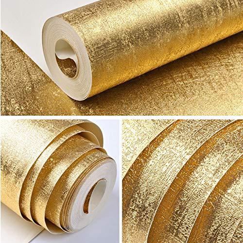 3D Tapete-Dreidimensionale Goldfolie Silber Gold Gold Tapete Zeichnung Pvc Tapete Schlafzimmer Wohnzimmer Küche Bad Tv Hintergrund-Wand Papier 53Cm X 10M/Roll D