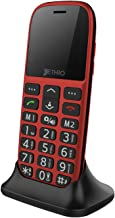 [Prime Deal] Jethro [SC318] 3G Unlocked Senior & Kids Cell Phone, FCC/IC Certified, SOS Emergency Button, 1.77